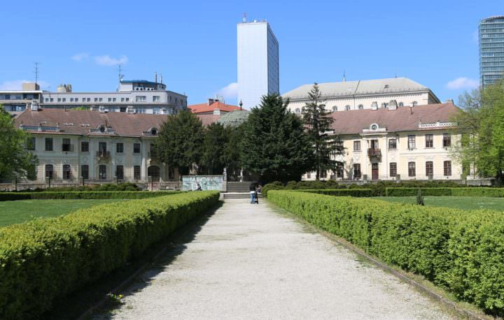 Comenius Universität Medical Garden