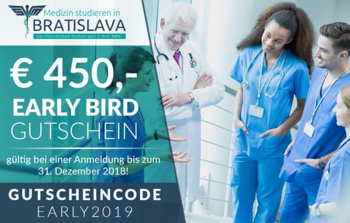 Gutschein für das Medizinstudium an der Comenius Universität in Bratislava